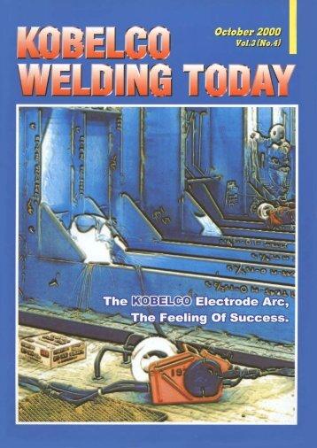 Kobelco Welding Today Vol.3 No.4 2000