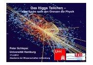 Vortrag - Akademie der Wissenschaften in Hamburg