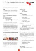 Branding and design manual - Triax - Page 4