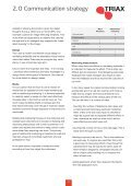 Branding and design manual - Triax - Page 6