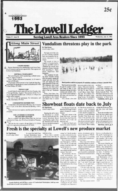 the lowell ledger to parent directory