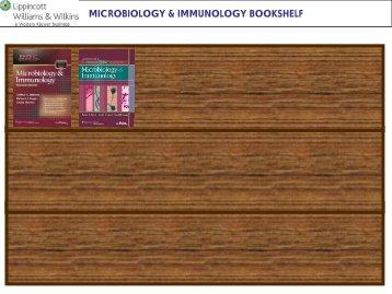 MICROBIOLOGY & IMMUNOLOGY BOOKSHELF