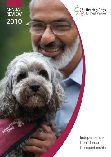 24431 Annual Report A4 v16.indd - Hearing Dogs for Deaf People