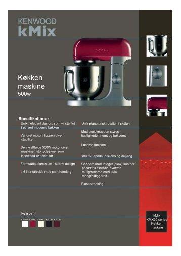 Køkken maskine - Witt.no