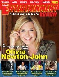 Olivia Newton-John - Inland Entertainment Review Magazine