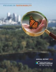 ANNUAL REPORT 2002 - Toronto and Region Conservation Authority