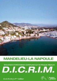 Téléchargez le DICRIM (Fichier Pdf 7 Mo) - Mandelieu La Napoule