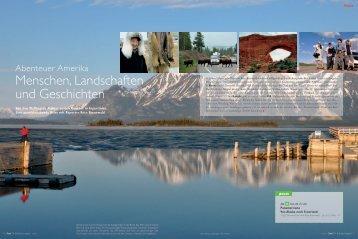 Menschen, Landschaften und Geschichten