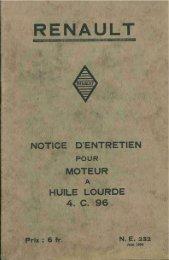 Notice entretien moteur huile lourde Renault 4C96.pdf - Amicale des ...