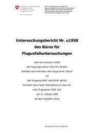 Untersuchungsbericht Nr. u1958 des Büros für ...