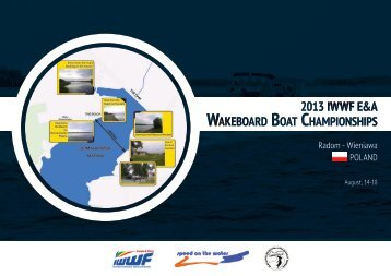 2013 E&A Wakeboard & Wakeskate Championships - Bulletin 1