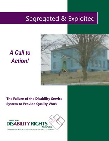 Segregated & Exploited - Disability Rights Texas
