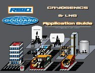 CRYOGENICS & LNG Application Guide - Teeco Products, Inc.