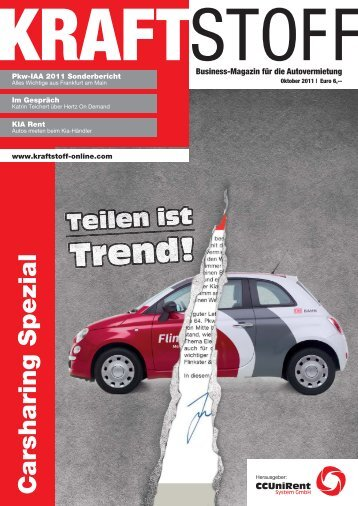 Business - Kraftstoff – Business-Magazin für die Autovermietung