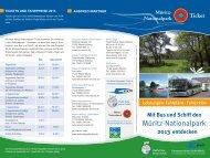 Mit Bus und Schiff den - Müritz Nationalpark-Ticket