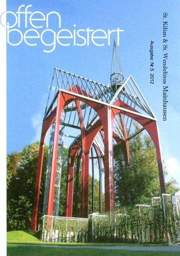 Pfarrbrief 2012 Nr 5 a - Sankt Wendelinus Zellhausen