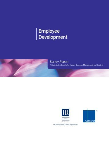 Employee Development - Society for Human Resource Management
