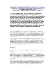Comparative Efficacy and Tolerability of ... - Panacea Biotec