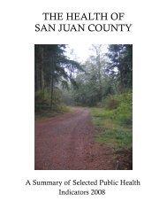 The 2008 Report - San Juan County