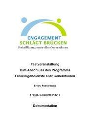 Zur Dokumentation der Veranstaltung - Zentrum für ...