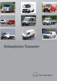 Rettungskarten Transporter - After-Sales Portal Mercedes-Benz ...