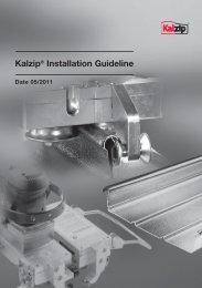 Kalzip Installation Guideline