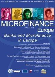 June 2010 - Banks and Microfinance in Europe - European ...