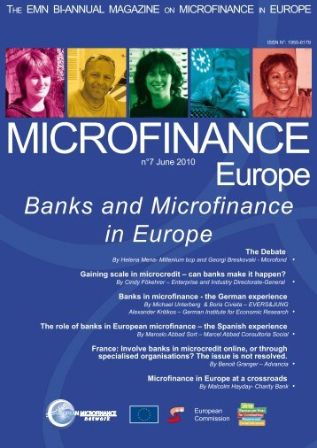 June 2010 - Banks and Microfinance in Europe - European ...