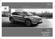 Prospekt zum downloaden - Subaru