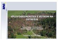 Projekt ostreÃ…Â¡ja - Zavod za gradbeniÃ…Â¡tvo Slovenije