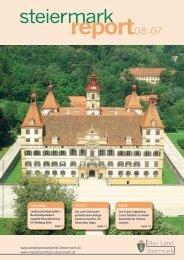 Steiermark Report August 2007 - doppelseitige Ansicht (für größere
