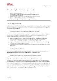 StrategiaLa strategia 2013-2016 di Merano Marketing. (PDF ... - MGM