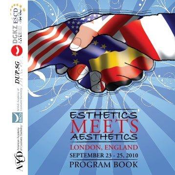 Download program in PDF format - ESCD