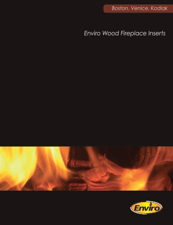 Wood Fireplace Insert Brochure