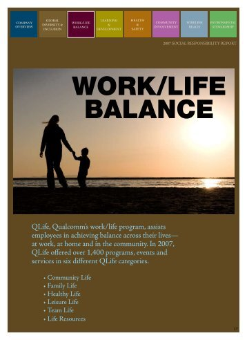 gender and work life balance