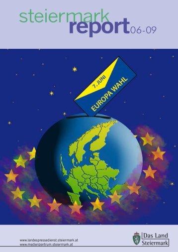 Steiermark Report Juni 2009 - doppelseitige Ansicht (für größere