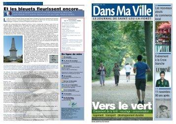 Magazine de novembre 2008 - Saint-Leu-La-Forêt