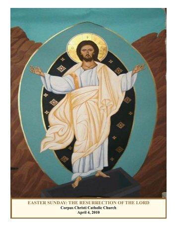 April 4, 2010 - Corpus Christi Catholic Church