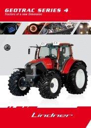 GEOTRAC SERIES 4 - Lindner Traktoren