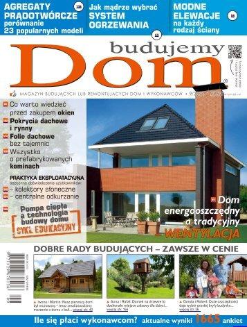 Budujemy Dom, wrzesień 2013 - UlubionyKiosk