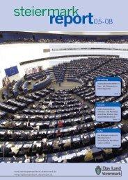 Steiermark Report Mai 2008 - einseitige Ansicht - Kommunikation ...