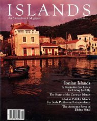 ISLANDS Magazine February 1984 - Greece
