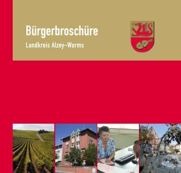 Bürgerbroschüre - Landkreis Alzey-Worms