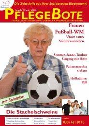 PflegeBote #8 (Juni / Juli 2011) als PDF downloaden - Sozialstation ...