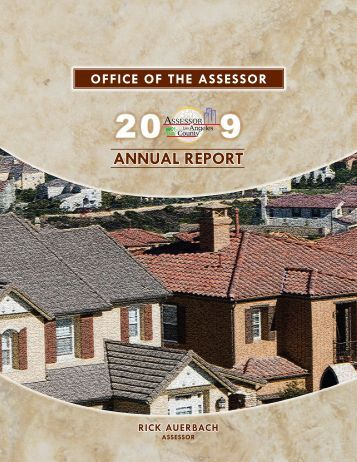 2009 Annual Report - Los Angeles County Assessor
