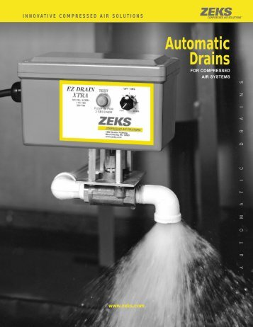 Automatic Drains - ZEKS Compressed Air Solutions