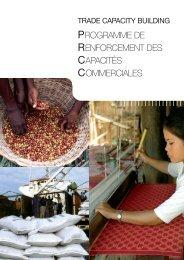 Trade capacity building program - Agence Française de ...