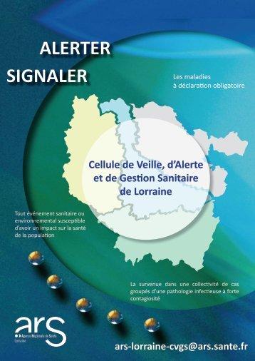 ALERTER SIGNALER - ARS Lorraine