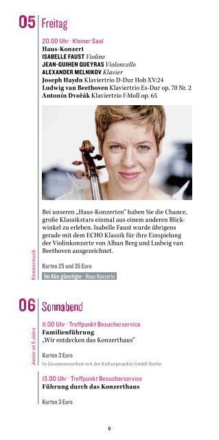 wo komponisten bester stimmung sind - Konzerthaus Berlin