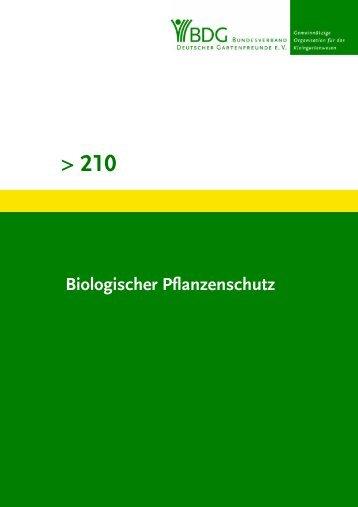 210 - Bundesverband Deutscher Gartenfreunde e.V.